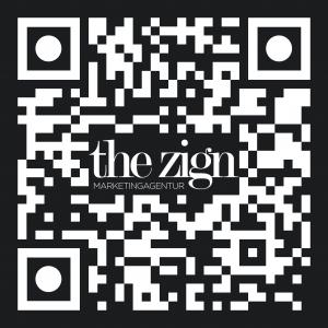 Google QR Code Rezension für the zign